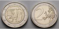 2 Euro 2016 Österreich 200 Jahre Österreichische Nationalbank stgl  4,50 EUR  + 7,00 EUR frais d'envoi