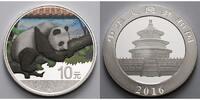 10 Yuan 2016 China China Panda, farbig  --  Dach in rot mit Zertifikat ... 42,95 EUR  +  17,00 EUR shipping