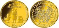 Medaille  2,00g  fein  18,00 mm Ø 2016  De...