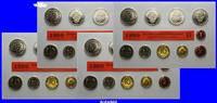 Deutschland 50,72 DM Amtlicher Kursmünzensatz in Folie