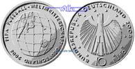 10 Euro 2005 D Deutschland Fußball WM 06/3. Serie Fußball1. Ausg. in 20... 37,80 EUR  +  17,00 EUR shipping