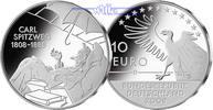 10 Euro 2008 Deutschland 200. Geburtstag Carl Spitzweg,1. Ausg. in 2008... 35,00 EUR  +  17,00 EUR shipping