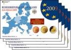 5,88 x5 2009 A/D/F/G/J Deutschland Kursmünzensatz als kompl. Satz(5 Prä... 149,00 EUR  +  17,00 EUR shipping