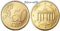 50 Cent 2002 G Deutschland Kursmünze, 50 Cent stgl  1,50 EUR  +  7,00 EUR shipping