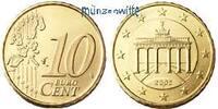 10 Cent 2006 D Deutschland Kursmünze, 10 Cent stgl  8,50 EUR  +  7,00 EUR shipping