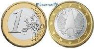 1 Euro 2007 J Deutschland Kursmünze, 1 Euro * stgl  1061 руб 15,50 EUR  +  753 руб shipping