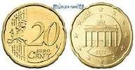 20 Cent 2010 J Deutschland Kursmünze, 20 Cent stgl  2,50 EUR  +  7,00 EUR shipping