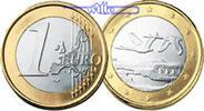 1 Euro 2001 Finnland Kursmünze, 1 Euro stgl  5,50 EUR  +  7,00 EUR shipping