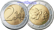 2 Euro 2001 Finnland Kursmünze, 2 Euro stgl  9,90 EUR  +  7,00 EUR shipping