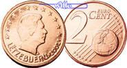 2 Cent 2007 Luxemburg Kursmünze, 2 Cent stgl  2,70 EUR  +  7,00 EUR shipping