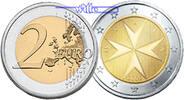 2 Euro 2008 Malta Kursmünze, 2 Euro stgl  4,50 EUR  +  7,00 EUR shipping