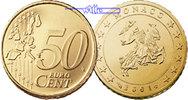 50 Cent 2003 Monaco Kursmünze, 50 Cent stgl  37,00 EUR  + 17,00 EUR frais d'envoi