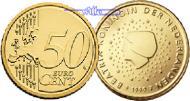 50 Cent 2010 Niederlande Kursmünze, 50 Cent * stgl  12,00 EUR  +  7,00 EUR shipping