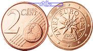 2 Cent 2005 Österreich Kursmünze, 2 Cent stgl  1.12 US$ 1,00 EUR  +  12.36 US$ shipping