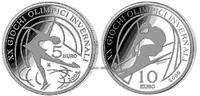 5 + 10 Euro 2005 Italien Winteroly Turin, Eiskunstlauf+Alpin-Ski(2),1.S... 79,00 EUR  +  17,00 EUR shipping