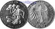 10 DM 1972 F Deutschland, Bundesrepublik 3. Ausg. Oly. Sportler, PP Sil... 17,50 EUR  +  7,00 EUR shipping