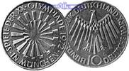 10 DM 1972 G Deutschland, Bundesrepublik 5. Ausg. Oly. Spirale München,... 16,50 EUR  +  7,00 EUR shipping