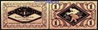 1 Mark  1918.11.21 Bielefeld Papier Verkehrsausgabe,  Grabowski/Mehl 10... 8,00 EUR  +  7,00 EUR shipping
