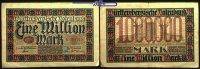 1 Million Mark  1923.06.15 Württemberg Notenbank Stuttgart, Grab. WTB 1... 4,00 EUR  +  7,00 EUR shipping
