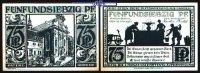 75 Pfg  1921.11.10 Paderborn, Stadt, 7.Ausgabe Schattenrisse, Serie B, ... 1,00 EUR  +  7,00 EUR shipping