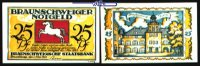 25 Pfg  1921,05,01 Braunschweig Braunschweiger Staatsbank, Serie Blanke... 3,50 EUR  +  7,00 EUR shipping