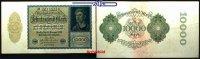 10 000 Mark 1920 19,01 Deutsches Reich Inflation, Reichsbanknote, Ro.69... 2,00 EUR  +  7,00 EUR shipping