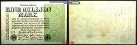 1 Million Mark 1923 9,08 Deutsches Reich Inflation, Reichsbanknote, Ro.... 2,00 EUR  +  7,00 EUR shipping