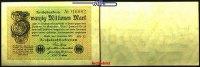 20 Millionen Mark 1923 1.09 Deutsches Reich Inflation, Reichsbanknote, ... 4,50 EUR  +  7,00 EUR shipping