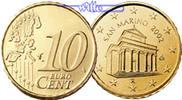 10 Cent 2004 San Marino Kursmünze, 10 Cent stgl  14,00 EUR  +  7,00 EUR shipping