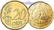 20 Cent 2008 San Marino Kursmünze,20 Cent stgl  6,00 EUR  +  7,00 EUR shipping