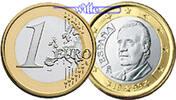 1 Euro 2008 Spanien Kursmünze, 1 Euro stgl  9,00 EUR  +  7,00 EUR shipping