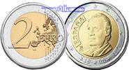 2 Euro 2008 Spanien Kursmünze, 2 Euro stgl  14,50 EUR  +  7,00 EUR shipping
