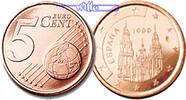 5 Cent 2001 Spanien Kursmünze, 5 Cent stgl  2,00 EUR  +  7,00 EUR shipping