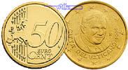 50 Cent 2013 Vatikan Kursmünze, 50 Cent * letzte Münze Papst Benedikt X... 8,50 EUR  +  7,00 EUR shipping