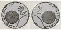 2,5 Euro 2008 Portugal Olympiade Peking, inkl. Etui & Zertifikat & Schu... 49,90 EUR  +  17,00 EUR shipping