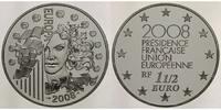1 1/2 Euro 2008 Frankreich Europäische Präsidentschaft - Europaprogramm... 65,00 EUR  + 17,00 EUR frais d'envoi