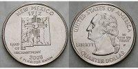 1/4 $ 2008 P USA New Mexico P - Kupfer-Nickel - vz  4,00 EUR  + 7,00 EUR frais d'envoi