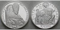 10 Euro 2008 Vatikan 41. Weltfriedenstag, die Menschheitsfamilie, eine ... 155,00 EUR  +  17,00 EUR shipping