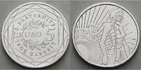 5 Euro 2008 Frankreich Semeuse - Säerin stgl.  19,90 EUR  +  7,00 EUR shipping