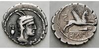Denar  Römische Republik L. PAPIVS 79 v. Chr. ss  225,00 EUR  +  17,00 EUR shipping