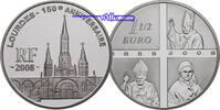1 1/2 Euro 2008 Frankreich 150 Jahre Erscheinung in -Lourdes- Papst Joh... 39,00 EUR  +  17,00 EUR shipping