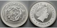 1 $ 2000 Australien Jahr des Drachen / Chines.Tierkreiszeichen stgl  149,50 EUR  +  17,00 EUR shipping