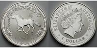 1 $ 2002 Australien Jahr des Pferdes / Chines.Tierkreiszeichen stgl  175,00 EUR  +  17,00 EUR shipping