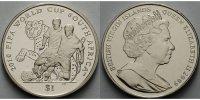 1 Dollar 2009 Britische Jungferninseln Fußball Weltmeisterschaft 2010 i... 19,80 EUR  +  7,00 EUR shipping