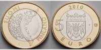 5 Euro 2010 Finnland Varsinais, Historische Provinzen Nr.1, ohne Zertif... 16,80 EUR  +  7,00 EUR shipping