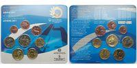 3,88 2011 Griechenland Kursmünzensatz,Spezial Oly.World Summer Games, m... 185,00 EUR  +  17,00 EUR shipping