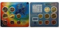 3.88 2003 Spanien Kursmünzen, kompl. Satz 2003  * stglimBlister  9,00 EUR  + 7,00 EUR frais d'envoi