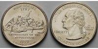 1/4 $ 1999 P USA New Jersey P - Kupfer-Nickel - vz  6,00 EUR  +  7,00 EUR shipping