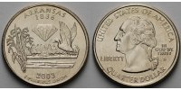 1/4 $ 2003 D USA Arkansas D - Kupfer-Nickel - vz  5.62 US$ 5,00 EUR  +  12.36 US$ shipping