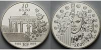 10 Euro 2009 Frankreich 20. Jahrestag Fall der Berliner Mauer - Europa ... 99,00 EUR  +  17,00 EUR shipping